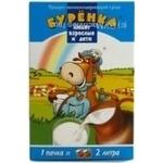 Продукт молокосодержащий Бурёнка сухой 25% 200г картонная коробка Россия
