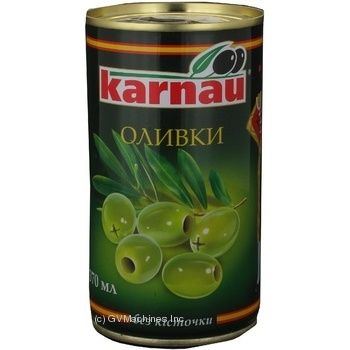 Оливки Karnau б/к 350г