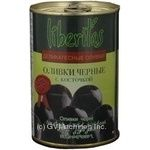 olive Liberitas black with bone 425g can Spain