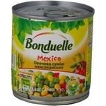 Vegetables Bonduelle Mexican vegetable canned 210g can Hungary