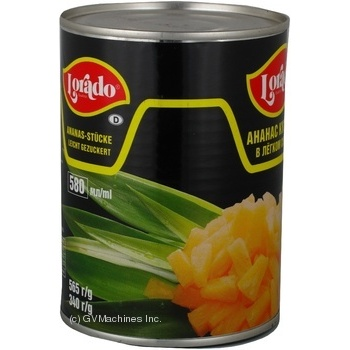 Pineapple chunks Lorado in light syrup 565g Thailand - buy, prices for Novus - image 5