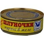 Мясо Онисс курица тушеная 240г железная банка Украина