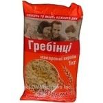 Макароны гребни 1000г Украина