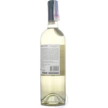 Вино Casillero del Diablo Совиньон Блан белое сухое 13% 0,75л - купить, цены на Novus - фото 2