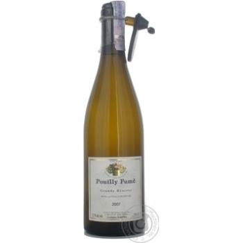 Вино Мелло белое сухие 12.5% 2007год 750мл Франция