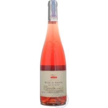 Вино Кальве Д'анжу розовое. Франция 0,75л