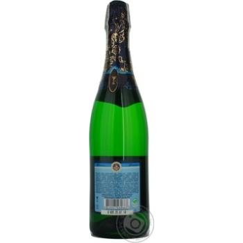 Шампанское КЗШВ Украинское белое сладкое 10,5-12,5% 0,75л - купить, цены на Novus - фото 2
