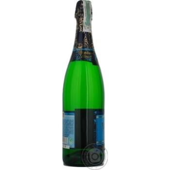 Шампанское КЗШВ Украинское белое сладкое 10,5-12,5% 0,75л - купить, цены на Novus - фото 3