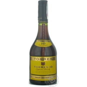 Torres Gran Reserva Brandy 10 years 0,7l - buy, prices for Novus - image 1
