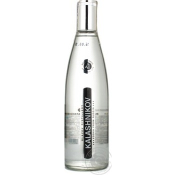 Vodka Kalashnikov 40% 500ml Russia
