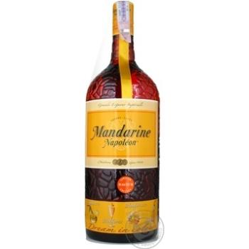 Liquor Mandarine napoleon 38% 1000ml Belgium