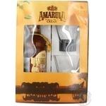 Набір Лiкер Amarula Cream&Marula Fruit 17% 0,7л +2 скл.