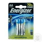 Батарейка Energizer Maximum AA FSB лужна 2шт