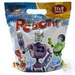Палочки кукурузные Starsnack Роботы с игрушкой 100г