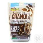 Гранола с шоколадом Bona vita 500г м/у - купить, цены на Novus - фото 1