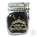 Tea Azerchay Royal with jasmin black loose 220g glass bottle