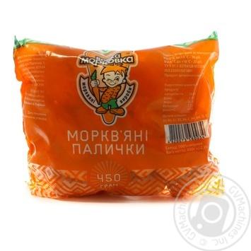 Морквяні палички Вовка Морковка 450г