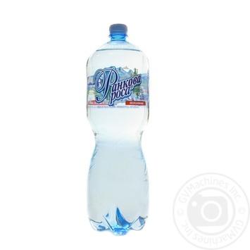 Вода мінеральна Ранкова Роса негазована 2л - купити, ціни на Novus - фото 1