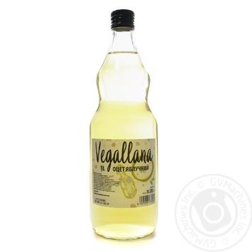 Оцет яблучний Vegallana 1000мл c/б - купить, цены на Novus - фото 1