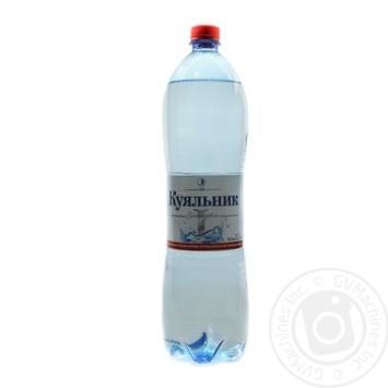 Вода Куяльник сильногазированная лечебно-столовая пластиковая бутылка 1500мл Украина - купить, цены на Novus - фото 2