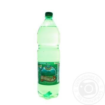 Вода мінеральна Шаянська Вишково слабогазована 1,5л - купити, ціни на Novus - фото 1