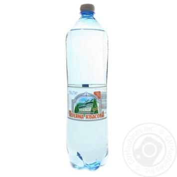 Вода Поляна Квасова газированная 1,5л - купить, цены на Фуршет - фото 1