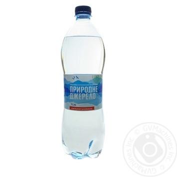 Вода Природное Джерело сильногазированная 1л