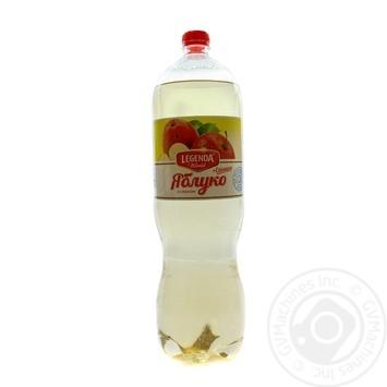 Напій газований Legenda зі смаком яблуко + ехінацея 2л