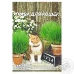 Семена Семена Украины Трава для котов 20г