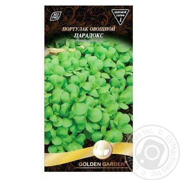 Семена Golden Garden Портулак овощной Парадокс 0,3г