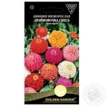 Семена Golden Garden Цинния низкорослая Дюймовочка смесь 0,5г
