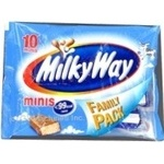 Батончик Milki Wey Міні Біг 155г