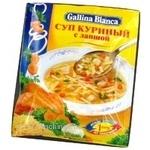 Суп Галіна бланка курка з куркою 61г в упаковці Росія