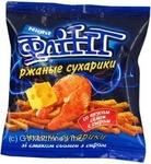 Сухари Флинт ржаная с сыром 40г Украина