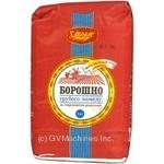 Flour Hlibodar coarse grinding 1000g packaged Ukraine