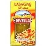 Макароны лазанья Дивелла яицо 500г Италия