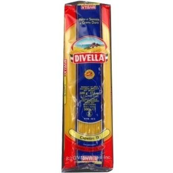 Макаронные изделия Divella Capellini №11 500г - купить, цены на Novus - фото 2