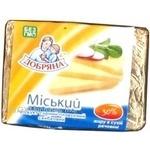 Сыр Добряна плавленный 30% 90г Украина