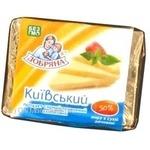 Сыр Добряна Киевский плавленный 50% 90г Украина