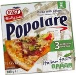 Pizza Vici Popolare with salami 945g Estonia