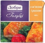 Cabbage rolls Dobre with meat precooked 400g Ukraine