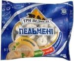 Пельмені Три ведмеді 450г Україна