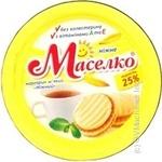 Маргарин Маселко мягкая 25% 245г Украина