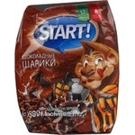 Шарики Start шоколад/какао 500г