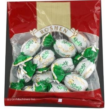 Конфета Рошен Рококо шоколад с орехами с начинкой 160г в упаковке Украина