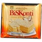 Торт Бісконті бисквит кокос 350г Украина