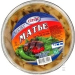 Филе-кусочки сельди Сириус Матье Мексика в масле со специями 500г Украина