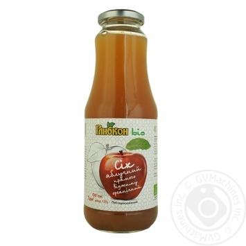 Сік яблучний Глибкон прямого віджиму органічний 1л - купити, ціни на Ашан - фото 1