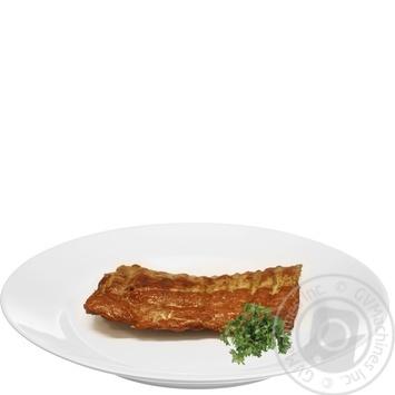 Ребро свиное варено-копченое