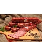 Колбаса Луганские деликатесы Амаретто сырокопченая Украина